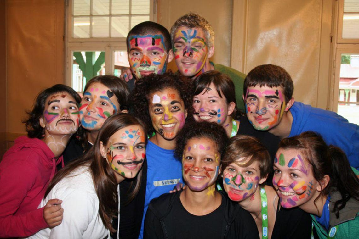EUROCAMP 2010 - farbige Gruppe