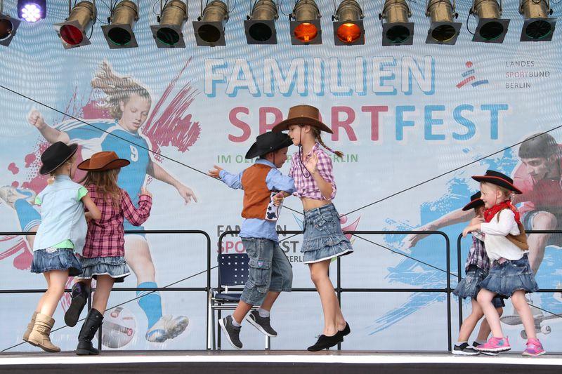 Familiensportfest im Olympiapark Berlin am 3. September 2017