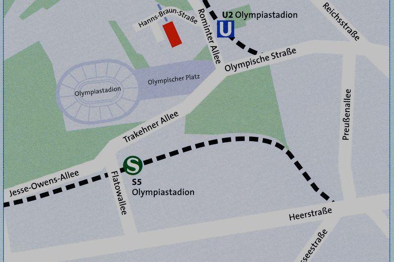 Bildungsstätte der Sportjugend Berlin - Anfahrt
