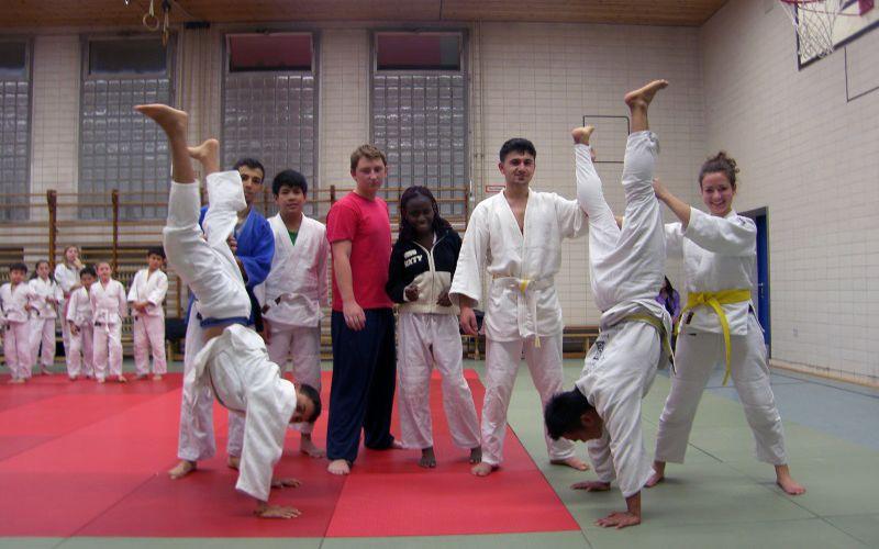 Sportorientierte Jugendarbeit - Judo
